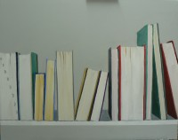 Books II, Acrylic on Canvas, 60 x 80 cms, £500