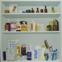 Bathroom Cabinet, 100 x 100 cms
